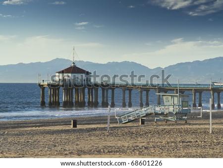 Manhattan Beach Afternoon - stock photo