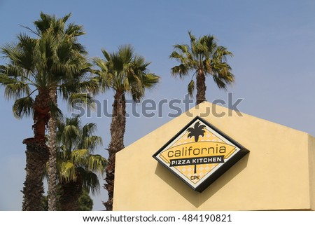 California Pizza Kitchen Palm Tree cpk stock photos, royalty-free images & vectors - shutterstock
