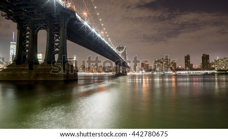Manhattan Bridge - New York CIty