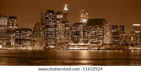 Manhattan by Neight - stock photo