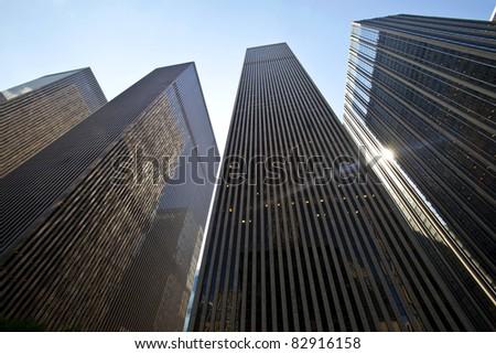 Manhattan. Financial District - stock photo