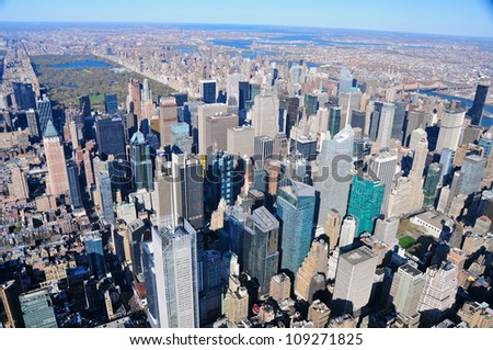 Manhattan, New York - stock photo