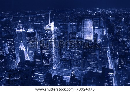 Manhattan, new York, - stock photo
