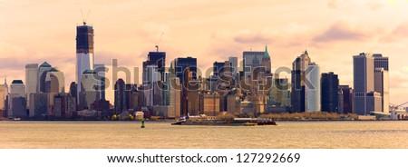 Manhattan, New York City. USA. - stock photo