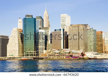 Manhattan, New York City, USA - stock photo