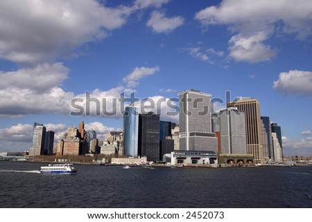 Manhattan Skyline and Harbor