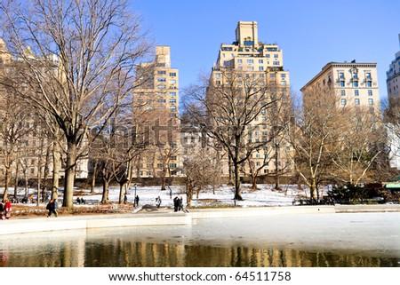 Manhattan 5th Avenue, Downtown New York City - stock photo