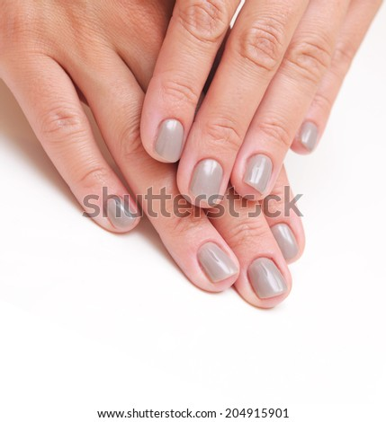 Manicure concept - stock photo