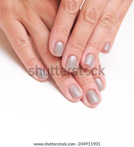 Manicure concept - stock photo