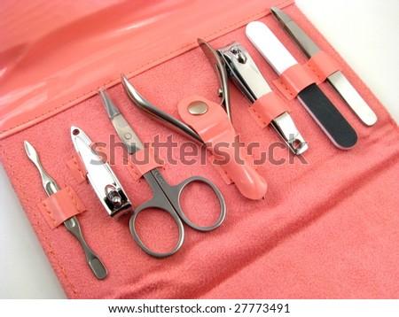 Manicure Kit - stock photo