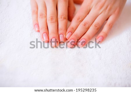 manicure. spa treatments for hands.  beauty salon. Beauty and Health