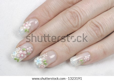 manicured fingernails