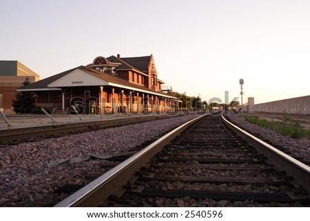Mankato Train Depot - stock photo