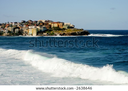 Manly beach in Sydney - stock photo