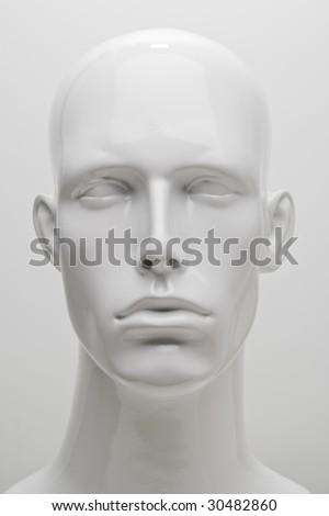 Mannequin Head Shot - stock photo