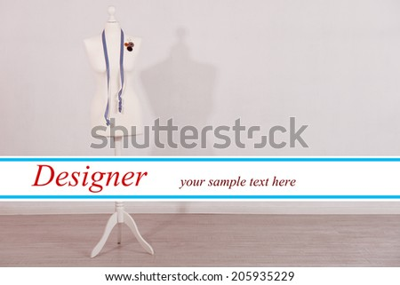 Mannequin in room - stock photo