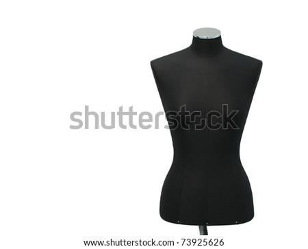 mannequin on a white background