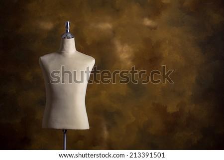 mannequin vintage - stock photo