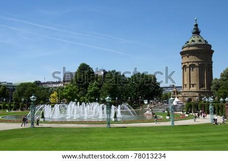 Mannheim - stock photo