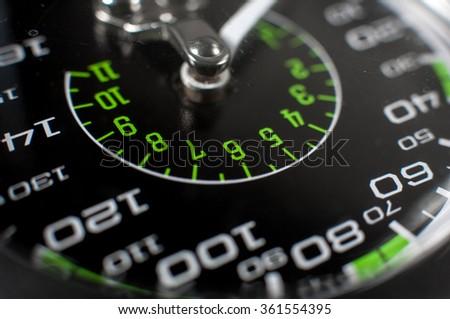 Manometer pressure. - stock photo
