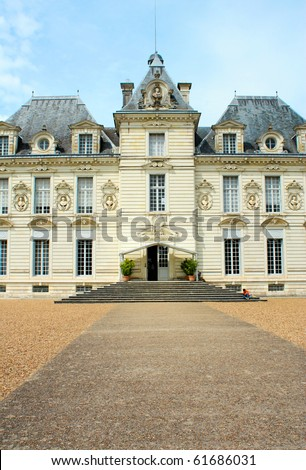 Manor - stock photo