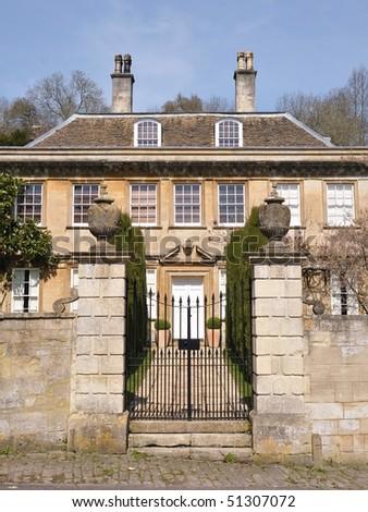Manor House - stock photo