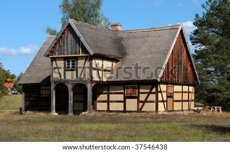 manor-house in the country