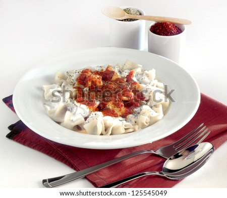 manti - stock photo