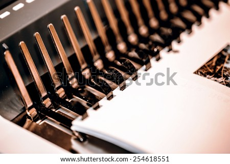 paperback book binding machine