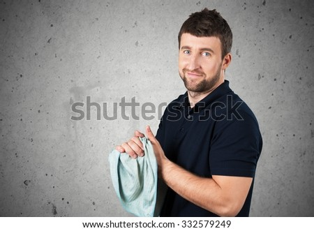 Manual Worker. - stock photo