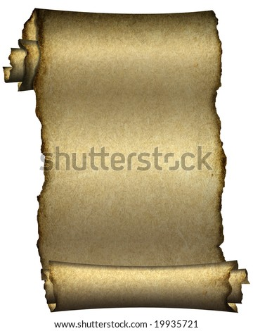Manuscript, aged scroll grunge paper background - stock photo