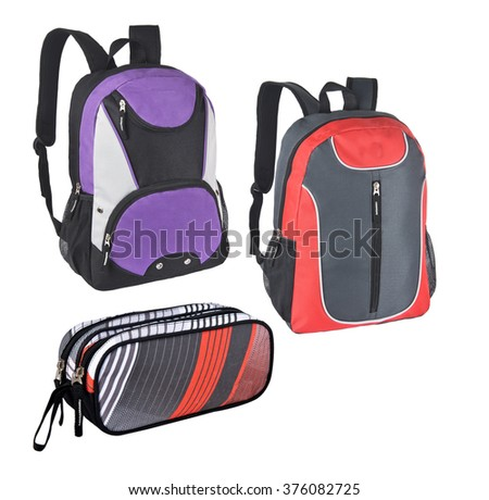 Many Backpack - back to school concepts