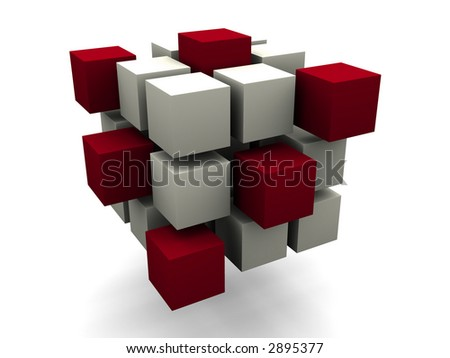 many blocks 3d