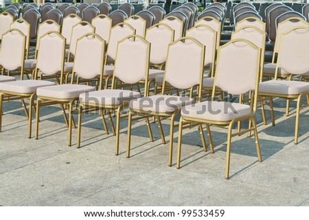 many chair