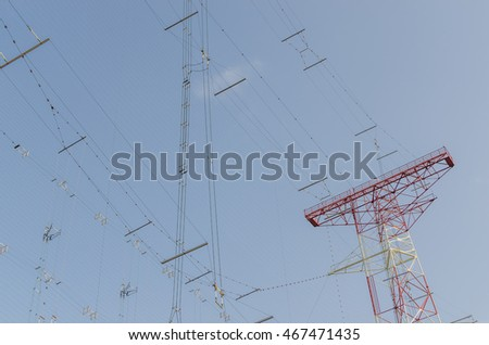 many communication lines from a large transmitting system