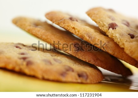 Many do it yourself chocolate chip cookies