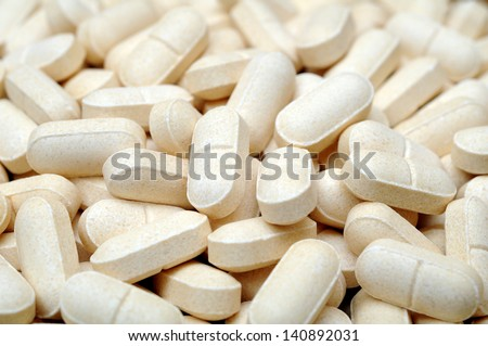 many pills for background uses - stock photo