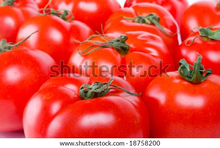 many ripe tomatoes