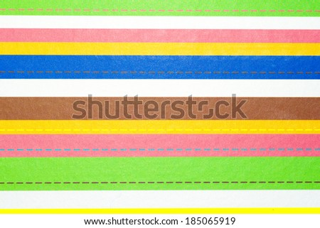 Many striped color texture as background