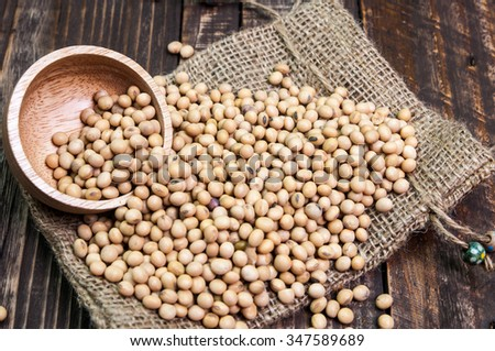 Many types of beans background coupon
