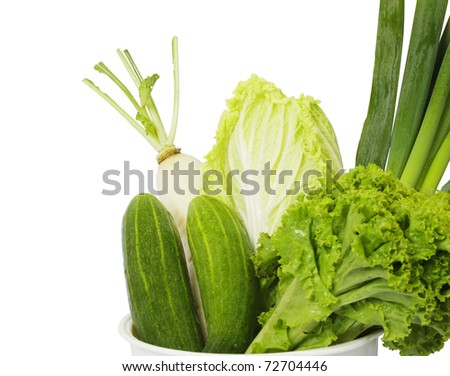 Many vegetables