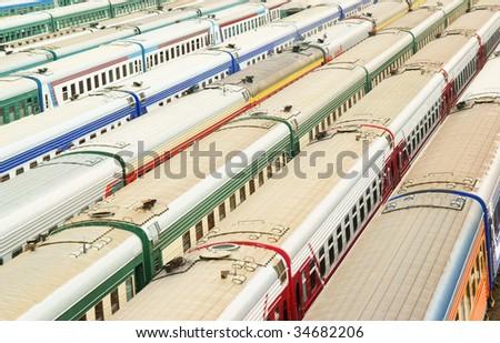 stock-photo-many-wagons-on-cargo-termina