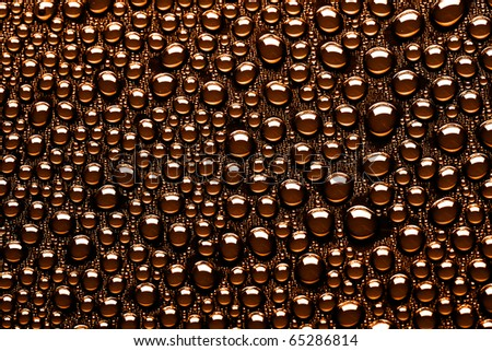 many water drops for background