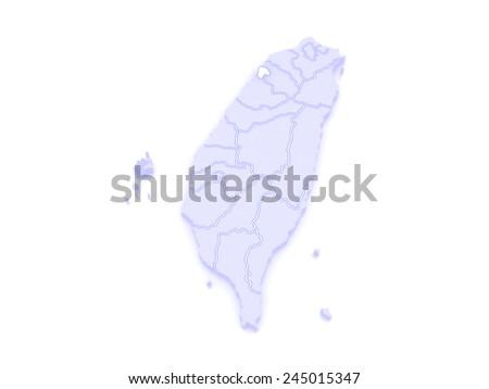 Map Hsinchu City Taiwan 3 D Stock Illustration 245015347 - Shutterstock