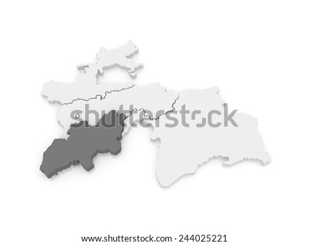 D Render White Paper Map Europe Stock Illustration - Khat in the us map