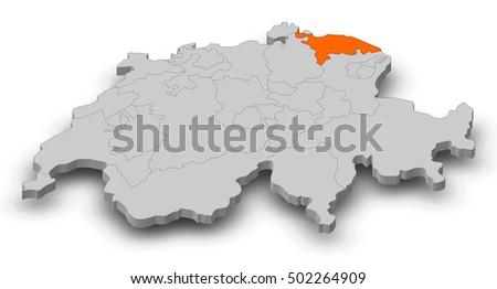 Kanton Thurgau Stock Images RoyaltyFree Images Vectors