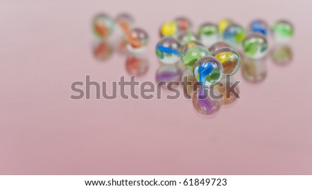 Marble Background Concept with Front Marble Focus - stock photo