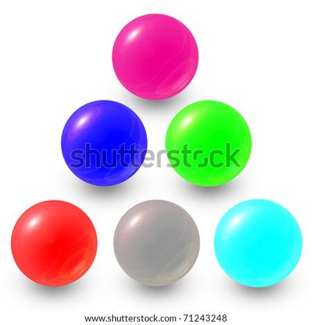 Marble ball - stock photo