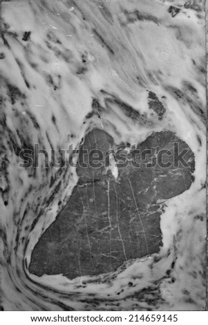 Marble black and white texture background