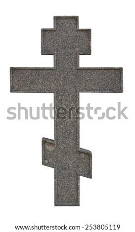 marble cross - stock photo